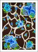 Floral Giraffe Print - No-Wrap