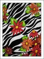 Floral Zebra Print - No-Wrap