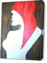 Redhead As Canvas