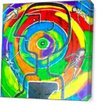 Human Vortex As Canvas