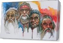 Tiwi Elders As Canvas