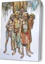 Koori Kids As Canvas