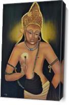 Padmapani- Young Buddha As Canvas
