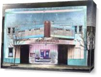 Majestic Theater Benicia II As Canvas
