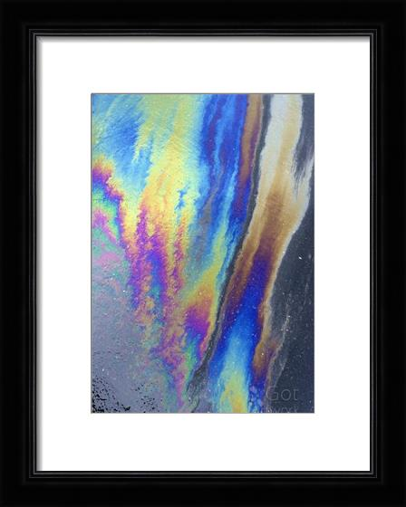 Asphalt Abstract I