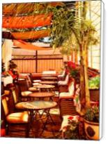 Union Hotel Patio, Benicia - Standard Wrap