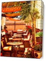 Union Hotel Patio, Benicia - Gallery Wrap Plus