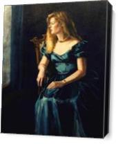 'Kathleen' As Canvas