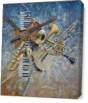 Abstract Melody As Canvas