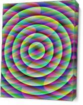 Geometric Auroras As Canvas