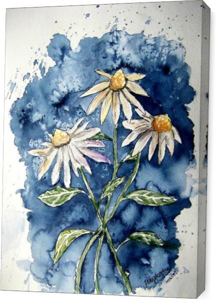 Daisies Flower Art Print