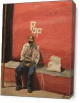 POP Cuban Man 2 As Canvas