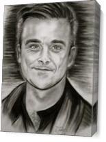 Robbie Williams As Canvas