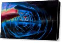 Blue Energy As Canvas