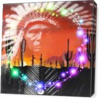 Ghost Dance As Canvas