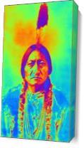 Sitting Bull As Canvas