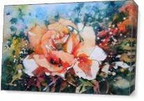 Everythings Peachy As Canvas