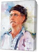 Sal Valencia Portrait As Canvas