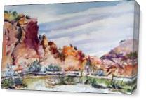 Smith Rock Park As Canvas
