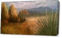Colorado Mountain Fall As Canvas