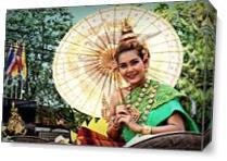 Parasol Queen. As Canvas