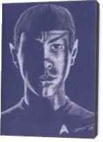 Spock - Gallery Wrap