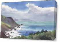 California Coast As Canvas