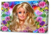 Barbie As Canvas