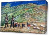 Carpathian Mountains As Canvas