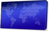 Worldmap As Canvas