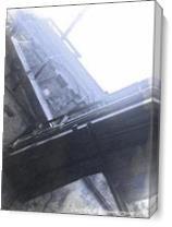 Grimsby Docks Icehouse As Canvas