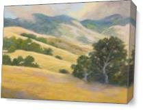 California Dreaming As Canvas