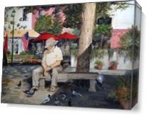 Savannah City Market As Canvas