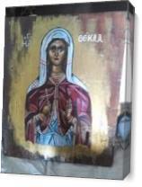 Ag. Thekla As Canvas