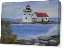 Lighthouse As Canvas