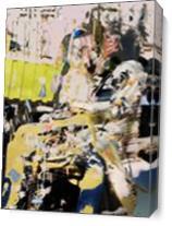 Digitally Created 606 As Canvas