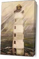 Point Lookout Lighthouse As Canvas