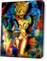 Carnival 3 As Canvas