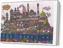 148 Magical City As Canvas