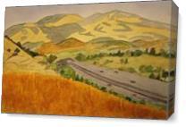 Deer Hill Diablo As Canvas