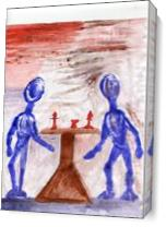 Chessplayers As Canvas