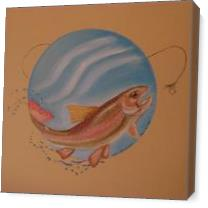 Rainbow_Trout_Mural_ As Canvas