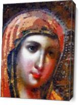 The Virgin Mary As Canvas