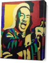 Martin Luther King Jr As Canvas
