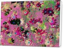 Cosmos Garden Flowers - Standard Wrap