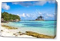 My Beautiful Island As Canvas