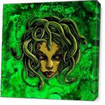 Medusa As Canvas
