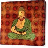 Buddha As Canvas