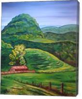 Tazewell Mountain - Gallery Wrap