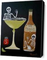 Margarita Time 2 As Canvas